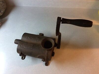 Unique Antique Cast Iron Tobacco Shredder Grinder Chopper-Russell & Erwin Mfg Co