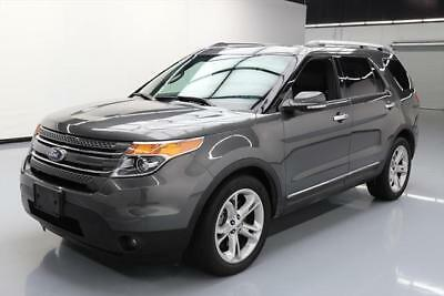 2015 Ford Explorer Limited Sport Utility 4-Door 2015 FORD EXPLORER LIMITED 7-PASS SUNROOF REAR CAM 41K #B82555 Texas Direct Auto