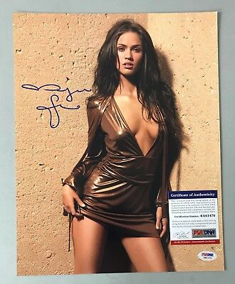 Megan Fox Signed 11x14 Photo Autograph AUTO PSA/DNA ITP COA
