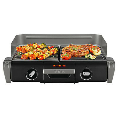 TEFAL Griller TG8000UK Family Flavour XL Electric bbq Grill (2400 Watt)