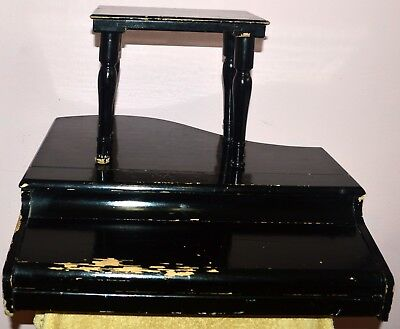 Antique Muse Children Gran Piano Made In Japan