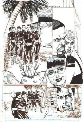 Howard Chaykin 2004 Challengers Of The Unknown Original Art-Free Shipping!