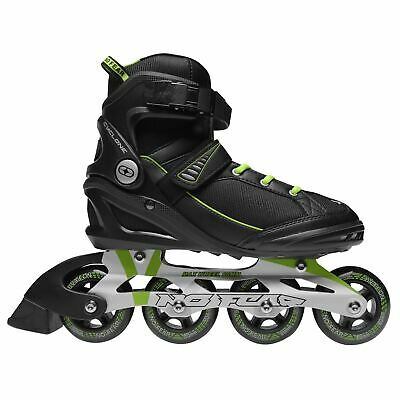 No Fear Mens Cyclone Inline Skates Roller Blades Four Wheel Sports