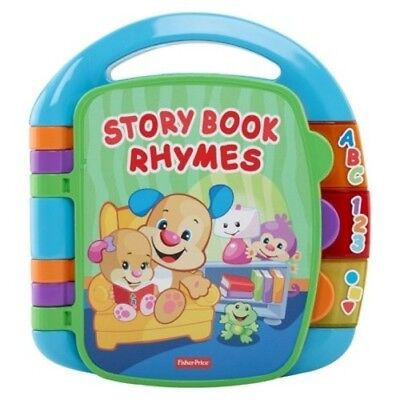 NEW Fisher- Laugh and Learn Storybook Rhymes Book CDH24
