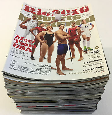 collection of 62 issues ~ SPORTS ILLUSTRATED