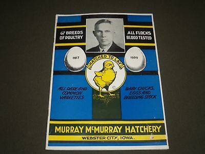 1959 Murray Mcmurray Hatchery Catalog - Poultry - Webster City, Iowa - J 2508