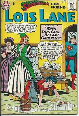 No Reserve Sale! Lois Lane No. 48 (1964) In Very Good Condition
