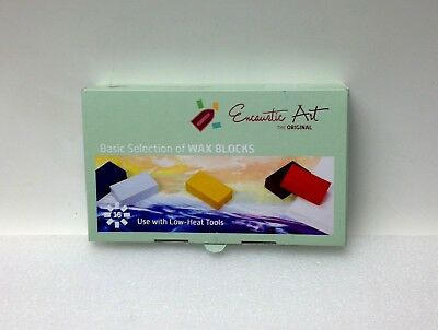 Encaustic Art Wax 16 Wax Block Colors Basic Selection New in the Box Painting