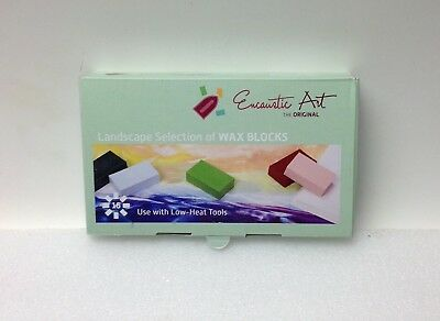 Encaustic Art Wax 16 Wax Block Colors Fantasia Selection New in the Box Painting