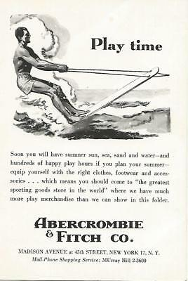 Vintage Abercrombie & Fitch Advertising~Outfitters Catalog Brochure Pamphlet #5