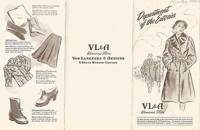 Abercrombie & Fitch / Vl&a~ Outfitters Vintage Catalog Pamphlet Brochure #4