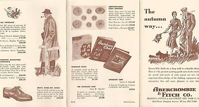 Vintage Abercrombie & Fitch Advertising~Outfitters Catalog Brochure Pamphlet #23