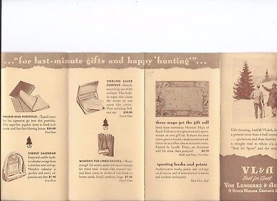 Abercrombie & Fitch / Vl&a~ Outfitters Vintage Catalog Pamphlet Brochure #12
