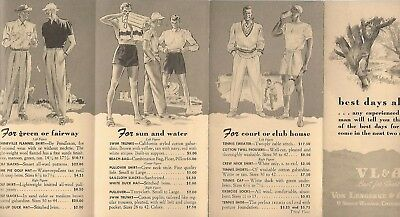 Abercrombie & Fitch / Vl&a~ Outfitters Vintage Catalog Pamphlet Brochure #11