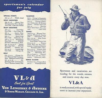 Abercrombie & Fitch / Vl&a~ Outfitters Vintage Catalog Pamphlet Brochure #3