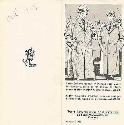 Abercrombie & Fitch / Vl&a~ Outfitters Vintage Catalog Pamphlet Brochure #2