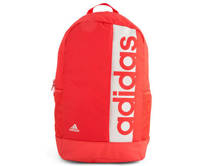 Adidas Linear Performance Backpack - Real Coral/Chalk Pearl