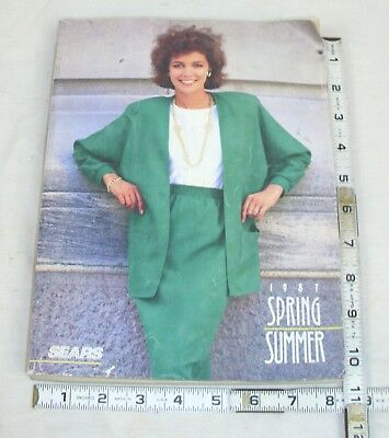 Sears 1987 Spring & Summer Catalog Men's & Women's Fashion, Auto, Home Bicycles