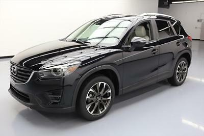 2016 Mazda CX-5 Grand Touring Sport Utility 4-Door 2016 MAZDA CX-5 GRAND TOURING LEATHER SUNROOF NAV 14K #642869 Texas Direct Auto