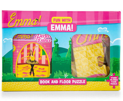 The Wiggles Fun With Emma Book & Floor Puzzle