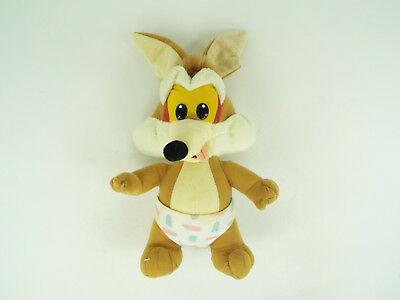 Tyco Baby Wile E Coyote Plush Looney Tunes Lovables Stuffed Animal