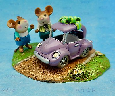 DREAM RIDE by Wee Forest Folk, Mouse Expo 2017 Event, Boy Mouse, First Car
