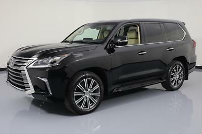2016 Lexus LX  2016 LEXUS LX570 AWD LUX SUNROOF NAV DVD HUD 21'S 16K #195756 Texas Direct Auto