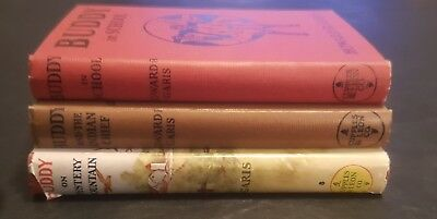 """Buddy books"" by howard garis lot of 3,first ed hardbacks/ 1929 to 1936,ex cond"