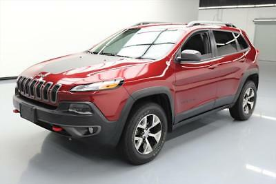 2015 Jeep Cherokee  2015 JEEP CHEROKEE TRAILHAWK 4X4 LEATHER NAVIGATION 28K #641210 Texas Direct