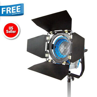 300W Fresnel Tungsten Studio Video Photo Lighting Light Spotlight with Free Bulb