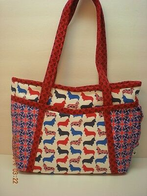 Handmade Pembroke Welsh Corgi Bag Purse-Made in USA **CC** B