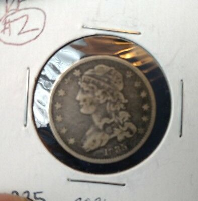 1835 VF Capped Bust silver Quarter (lot#2)