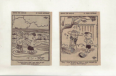 Dennis the Menace by Hank Ketcham - 26 daily comic strips from Aug./Sept. 1967