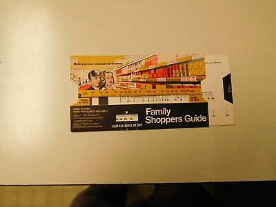 """Nice Oldie """" Family Shoppers Guide """" Slide"""