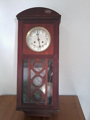 Antique Wall Clock (Lot 4) - For Restoration/spares
