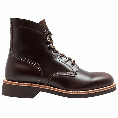 G.H. Bass & Co. Duxbury Chocolate Mens Leather Lace Up Ankle Boots