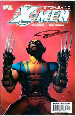 Astonishing X-Men #1 Dell'otto Variant Dynamic Forces Signed Cassaday Df Marvel