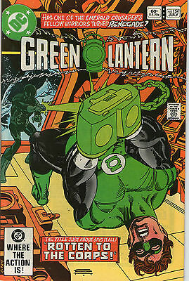 Green Lantern # 154 - Rotten To The Corps ( Scarce - 1982 )