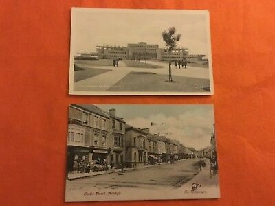 Two Old Ireland Postcards
