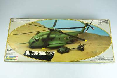 Revell 1:48 CH-53G Sikorsky US Marines Helicopter Hubschrauber H-4511 Kit 105580