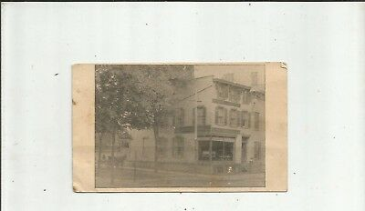 1900's POUGHKEEPSIE NY Vossler Mill St Photo Estey-Weber Pianos Trade Card