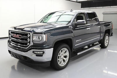 "2017 GMC Sierra 1500 SLT Crew Cab Pickup 4-Door 2017 GMC SIERRA 1500 SLT CREW 4X4 NAV 20"" WHEELS 42K MI #162582 Texas Direct"