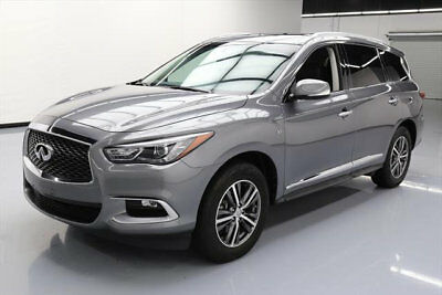 2016 Infiniti QX60 Base Sport Utility 4-Door 2016 INFINITI QX60 AWD 7-PASS SUNROOF HTD LEATHER 38K #507896 Texas Direct Auto
