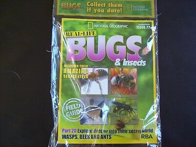 National Geographic Real-life Bugs & Insects magazine Issue 77
