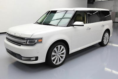2014 Ford Flex  2014 FORD FLEX LIMITED VENT LEATHER SUNROOF NAV 57K MI #D43626 Texas Direct Auto
