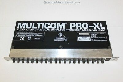 Behringer Multicom Pro-XL MDX4600, Audio Interactive Quad Dynamics Processor