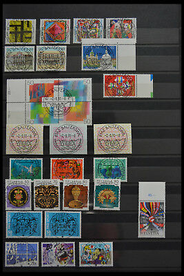 Lot 28478 Collection stamps of Switzerland.