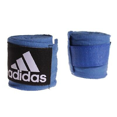 Adidas Boxing Hand Wraps 255cm Muay Thai  BLUE AIBA 2.5m stretch bandages