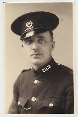 Military post card-ROYAL MARINES, Member of Royal Marine Police Special Reserve
