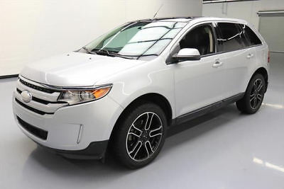2013 Ford Edge SEL Sport Utility 4-Door 2013 FORD EDGE SEL PANO ROOF REAR CAM LEATHER 20'S 60K #C24970 Texas Direct Auto